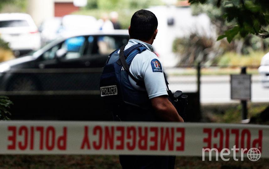Место ЧП В Крайстчерче. Фото AFP