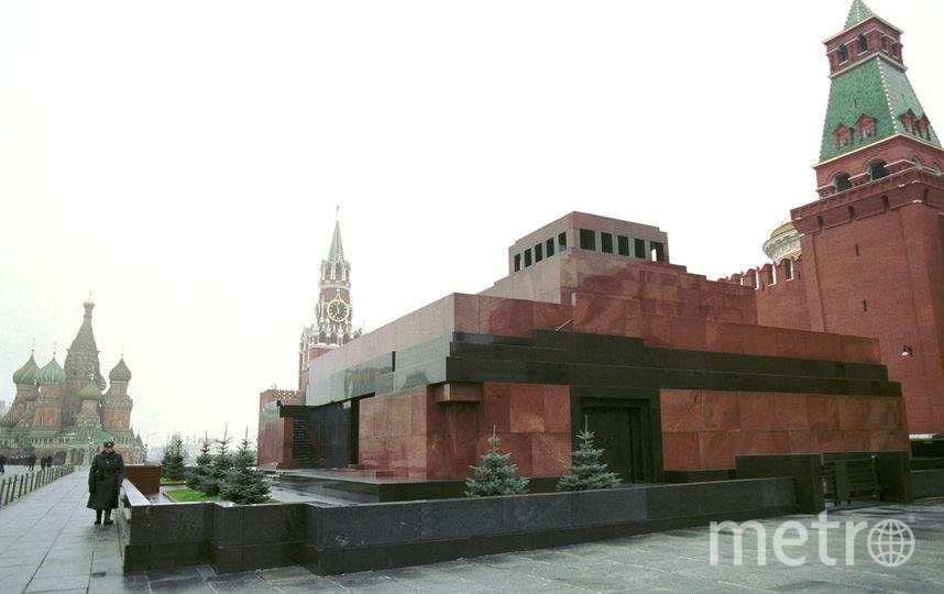 Мавзолей В. И. Ленина. Фото Getty