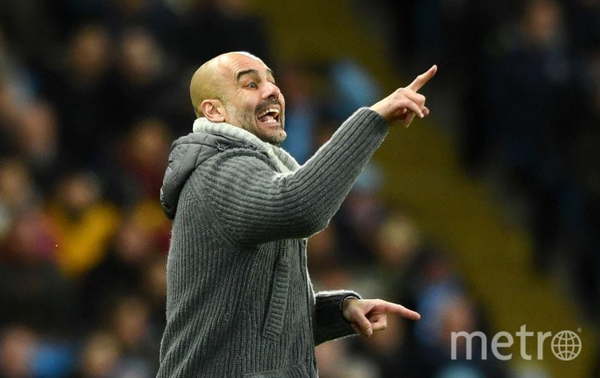"""Тренер """"Манчестер Сити"""" Хосеп Гвардиола. Фото Getty"""