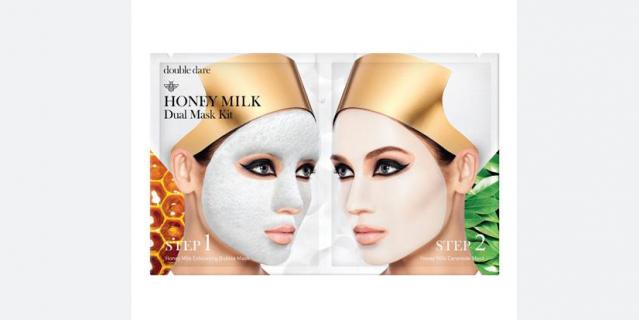 """Комплекс Double Dare Honey Milk """"Глубокое очищение и увлажнение""""."""