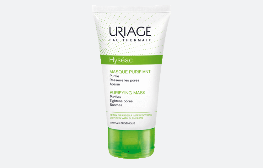 Очищающая маска Uriage Hyseac.
