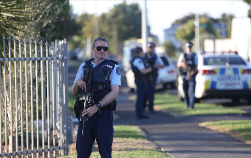 Нападение в Новой Зеландии. Фото Getty