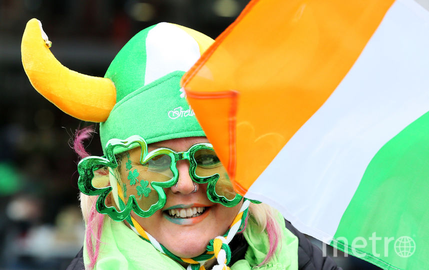 Парад в Дублине, Ирландия. Фото AFP