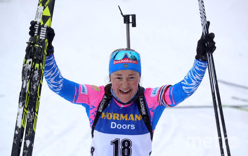 Екатерина Юрлова-Перхт подтвердила статус лидера женской сборной. Фото Getty