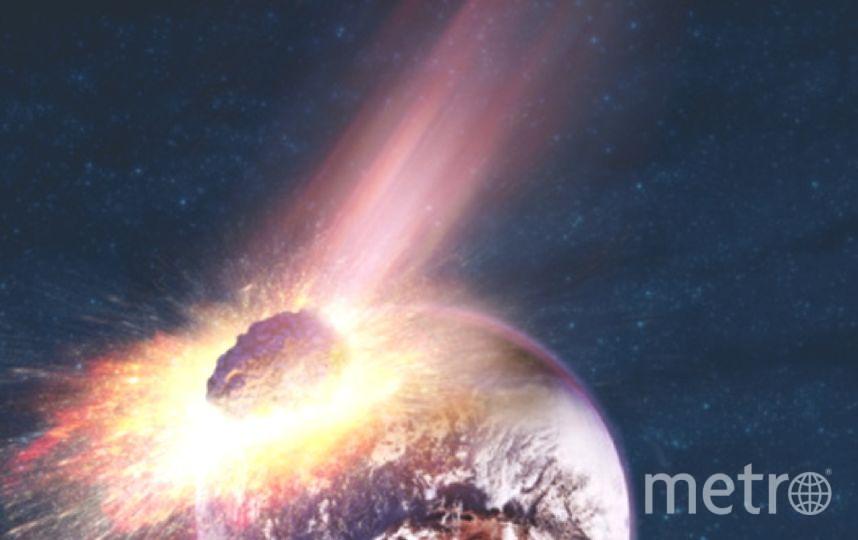 """Астероид EA2 приблизится к Земле на расстояние 305 тысяч км. Фото """"Metro"""""""