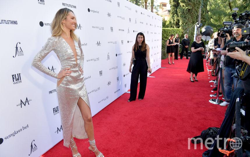 Fashion Los Angeles Awards. Кендис Свейнпол. Фото Getty