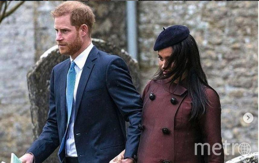 Принц Гарри и Меган Маркл. Фото https://www.instagram.com/p/BvIF9znFwwf/