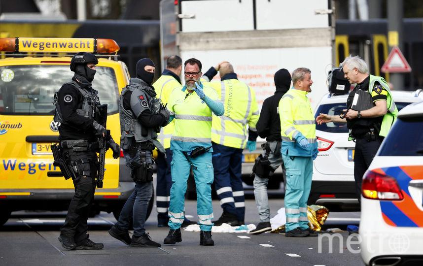 Преступник скрылся с места происшествия. Фото AFP