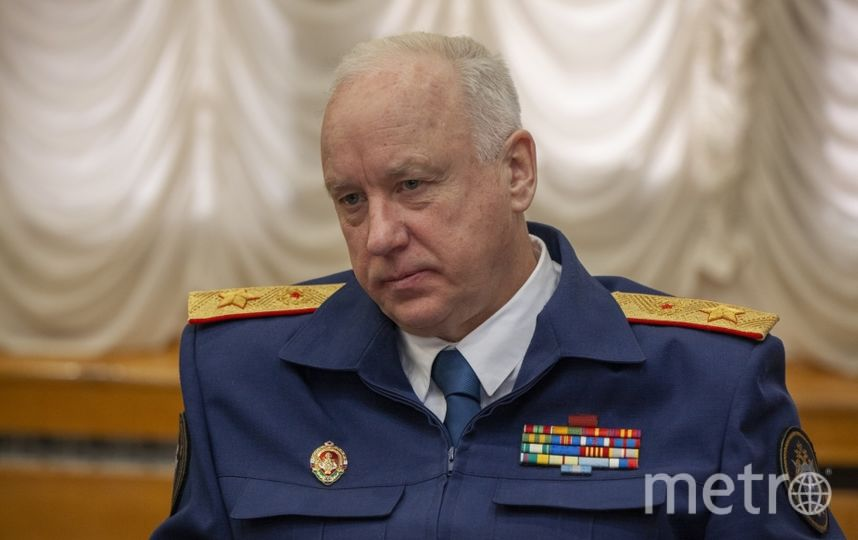 Председатель СК Рф Александр Бастрыкин. Фото официальный сайт СК РФ
