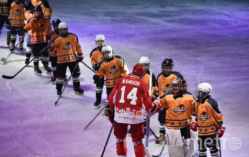 """На новой арене олимпийские чемпионы сыграли с юными хоккеистами. Фото предоставлено пресс-службой """"Хумо Арены"""""""