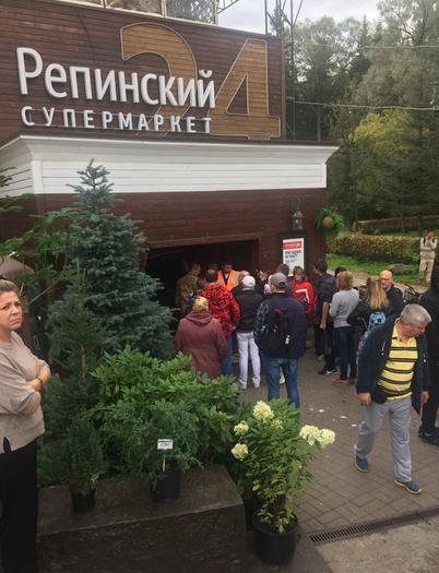 В Петербурге внедорожник въехал в супермаркет: есть погибшие. Фото vk.com/spb_today