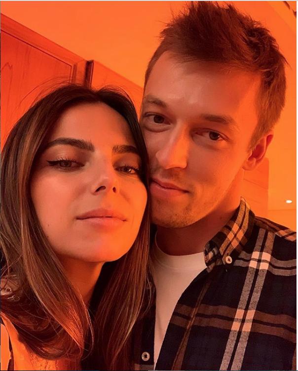 Даниил Квят и Келли Пике. Фото instagram.com/kellypiquet