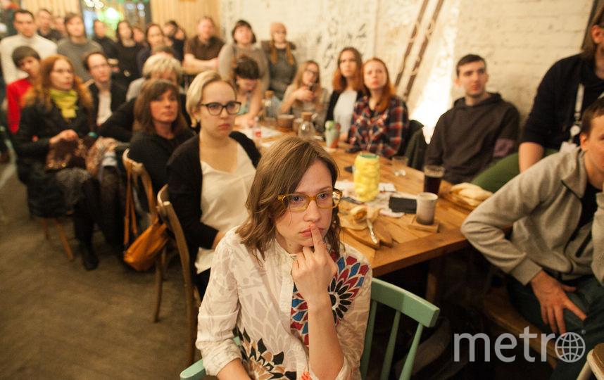 Ученые рассказывают о своей работе прямо в питейных заведениях Петербурга. Фото фото предоставлено организаторами