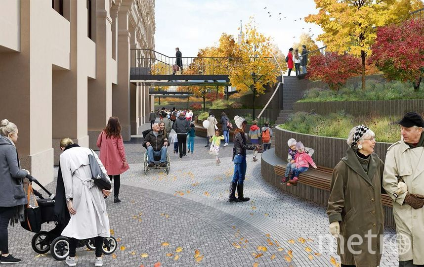 "Проект. Фото архитектурное бюро Wowhaus, ""Metro"""