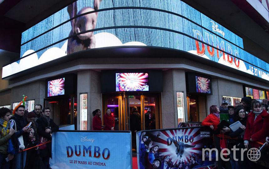 "В Париже состоялся показ фильма Тима Бёртона ""Дамбо"". Фото Getty"