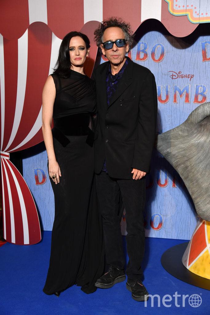 Тим Бёртон и Ева Грин. Фото Getty