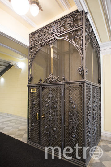 "Лифт в здании Волжско-камского банка. Фото Святослав Акимов, ""Metro"""