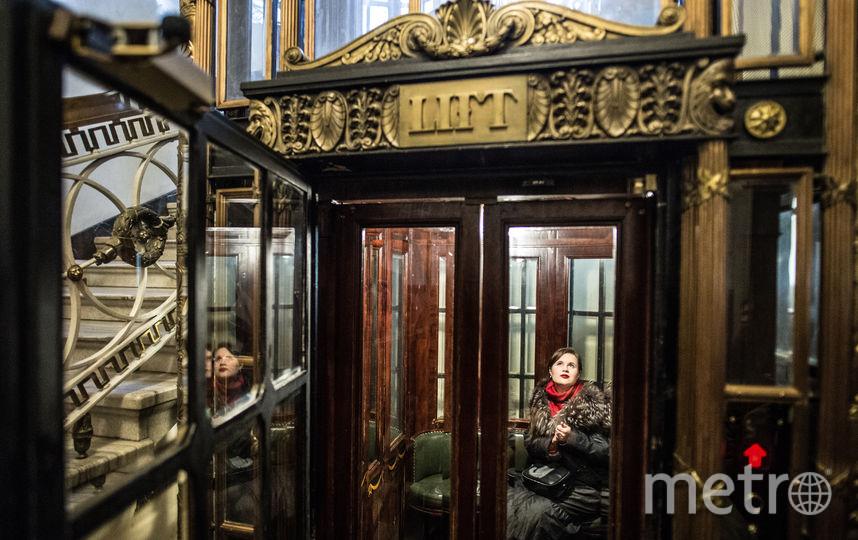 """Лифт в доме Мертенса. Фото Святослав Акимов, """"Metro"""""""