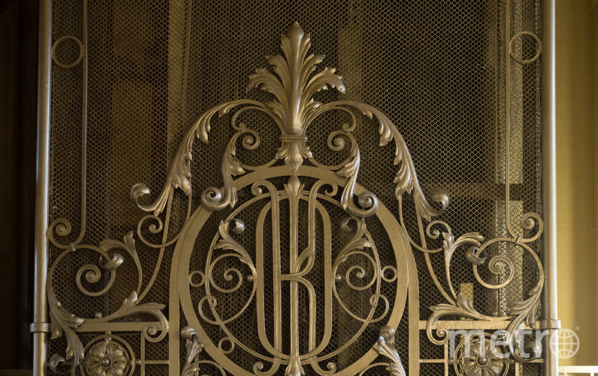 """Лифт в здании Общества взаимного кредита. Фото Святослав Акимов, """"Metro"""""""