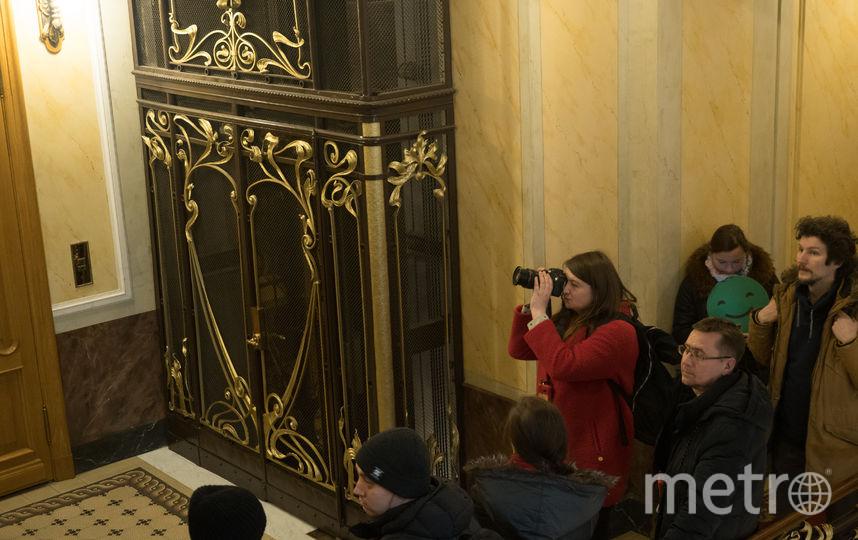"""Лифт в Доме Зингера. Фото Святослав Акимов, """"Metro"""""""