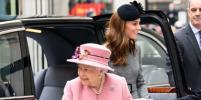 Елизавета II и Кейт Миддлтон впервые вышли в свет вдвоём