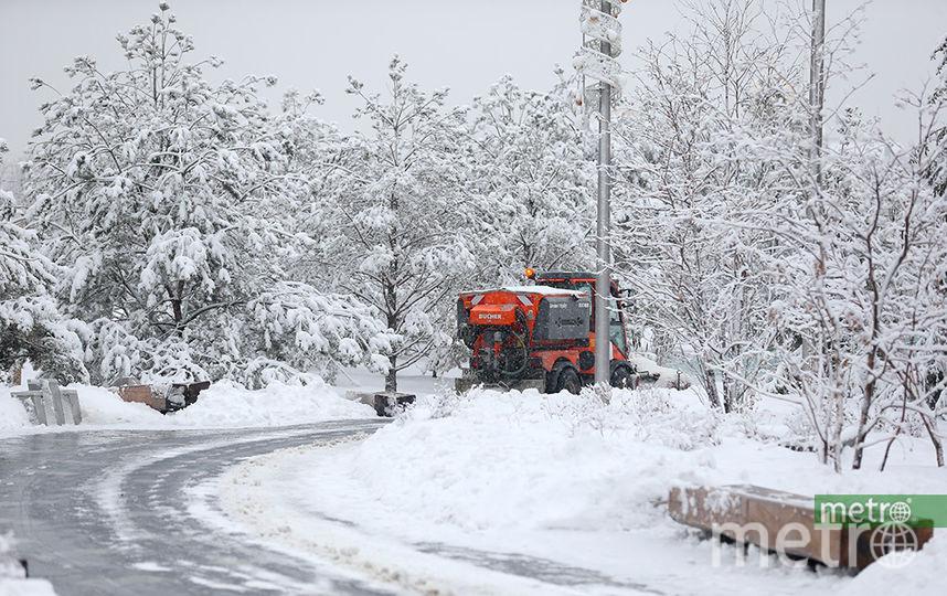 Ранее Гидрометцентр пообещал жителям северных регионов России тридцатиградусные морозы в апреле. Фото Василий Кузьмичёнок