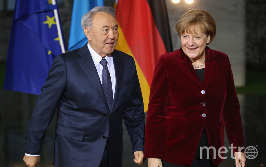 Нурсултан Назарбаев и Ангела Меркель. Архивное фото. Фото Getty