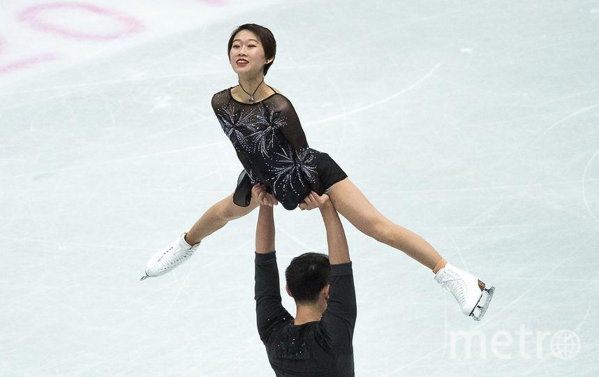 Китайские фигуристы Пэн Чэн и Цзинь Ян. Фото AFP