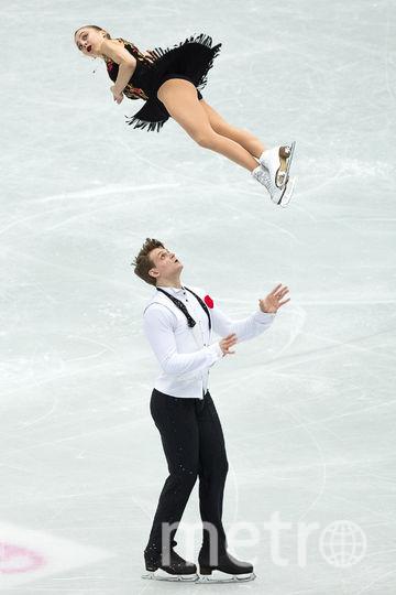 Российские фигуристы Александра Бойкова и Дмитрий Козловский. Фото AFP
