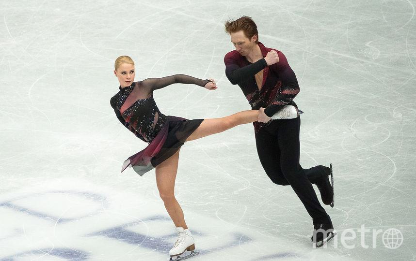 Российские фигуристы Евгения Тарасова и Владимир Морозов. Фото AFP