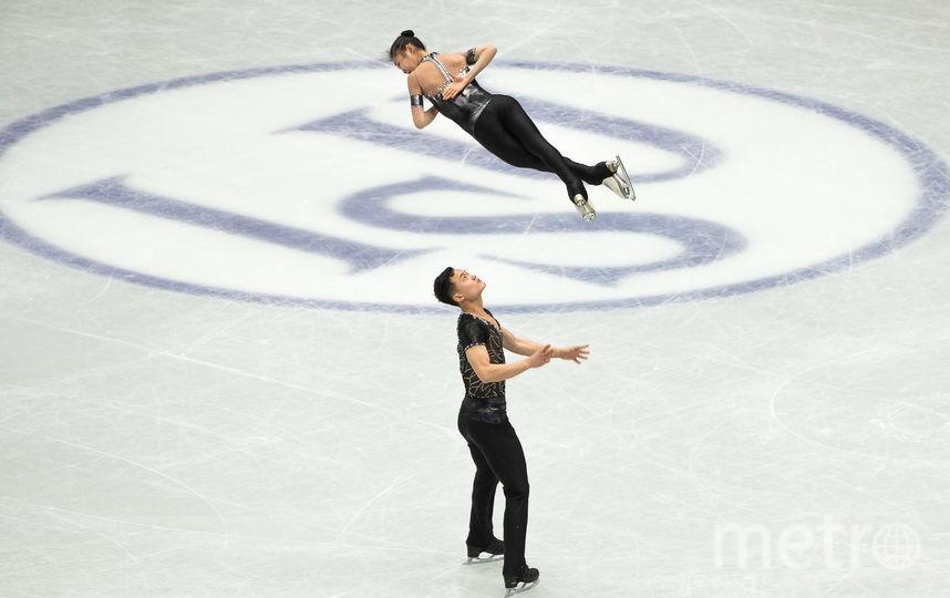 Северокорейские фигуристы Рём Тхэ Ок и Ким Джу Сик. Фото AFP