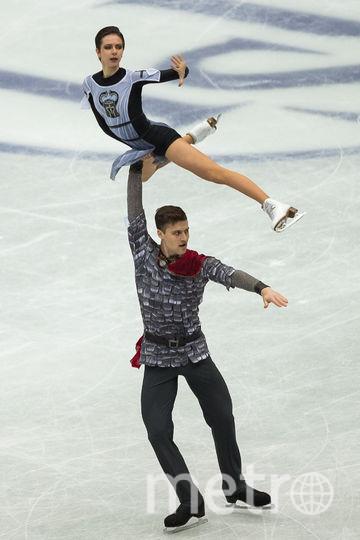 Россияне Наталья Забияко и Александр Энберт. Фото AFP