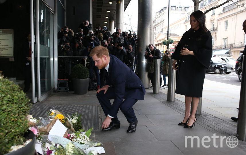 Принц Гарри и Меган Маркл почтили память погибших в Новой Зеландии. Фото Getty