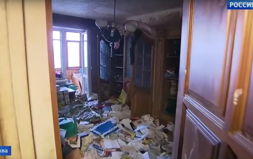 Так выглядит квартира, где нашли ребёнка. Фото Скриншот youtube.com/watch?v=HkBgQbR0DUs.