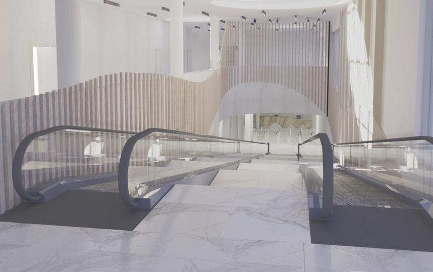 Проект нового павильона. Фото mos.ru