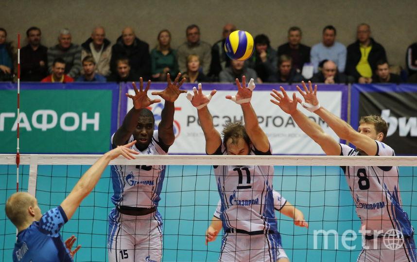 """Игрок волейбольного """"Зенита"""" Ореоль Камехо. Фото Интерпресс. Геннадий Сафонов"""