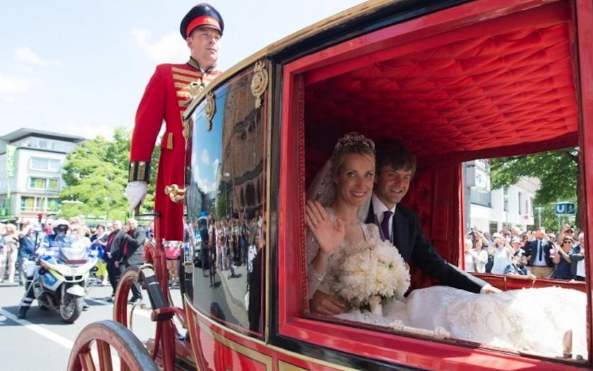 Принц Эрнст и Екатерина Малышева, фотоархив. Фото AFP