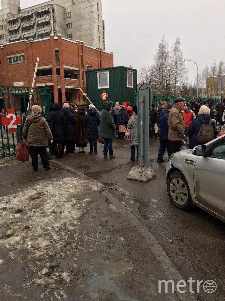 "Боткинская больница. Фото https://t.me/Megapolisonline, ""Metro"""