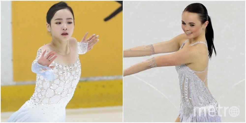 """Соперницы на Чемпионате мира в Японии. Слева - Лим Ын Су, справа - Мэрайя Белл. Фото https://www.allkpop.com, """"Metro"""""""