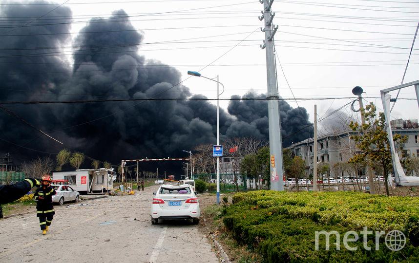 В результате взрыва погибли 6 человек. Фото AFP