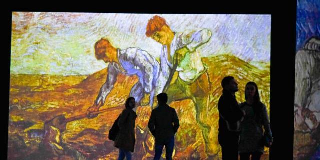 Ван Гог. Письма к Тео, выставка.