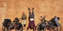 Петербуржец доехал до Африки на велосипеде из бамбука