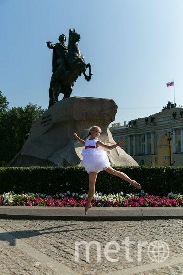 "на фото моя дочь Александра Кузьмина. Фото Анна Афанасьева, ""Metro"""