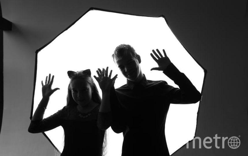 """Мои дети - Юля и Саша, танец маленьких чертят. Фото Шевелева Ирина, """"Metro"""""""