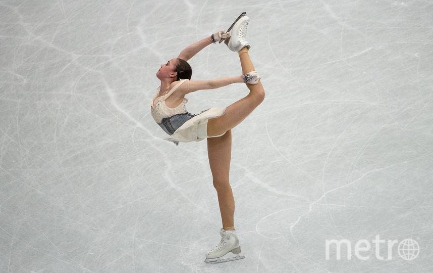 Российская фигуристка Алина Загитова. Фото AFP