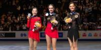 Золотая Загитова и Медведева, которая дала ей бой: фотогалерея с чемпионата мира
