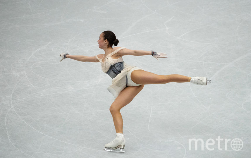 Загитова в первый соревновательный день. Фото AFP