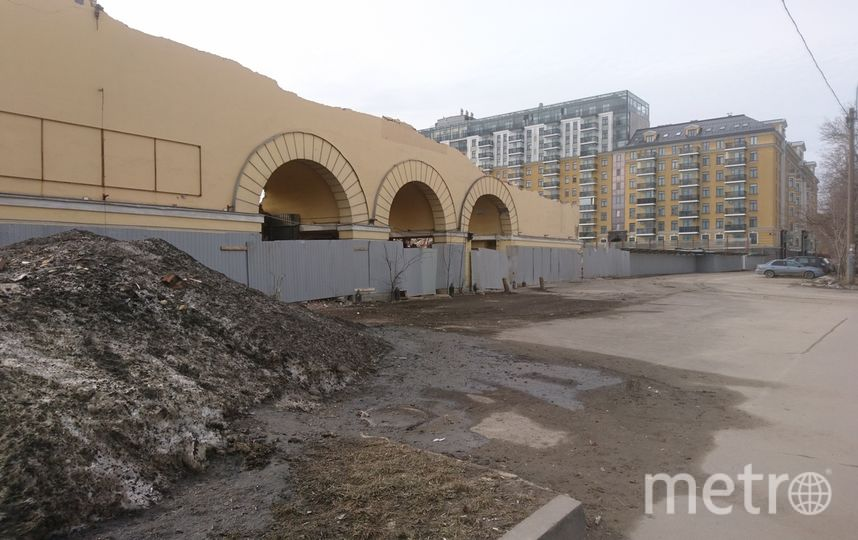 Здание почти снесено. Фото Кирилл Аланнэ / Красивый Петербург, peterburg_krasiv, vk.com