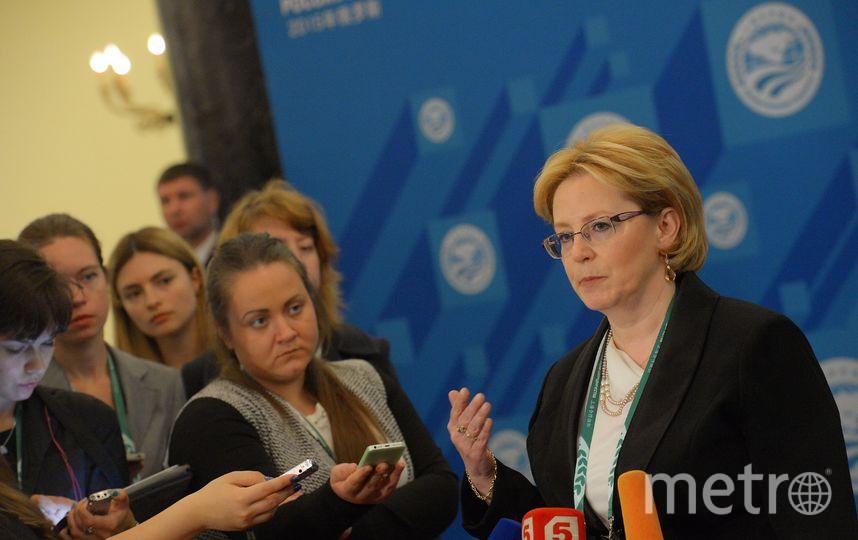 Министр здравоохранения Вероника Скворцова. Фото Getty