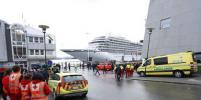 Круизный лайнер Viking Sky доставили в порт